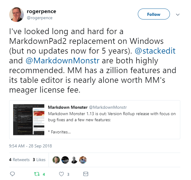 Markdown Monster - A better Markdown Editor for Windows
