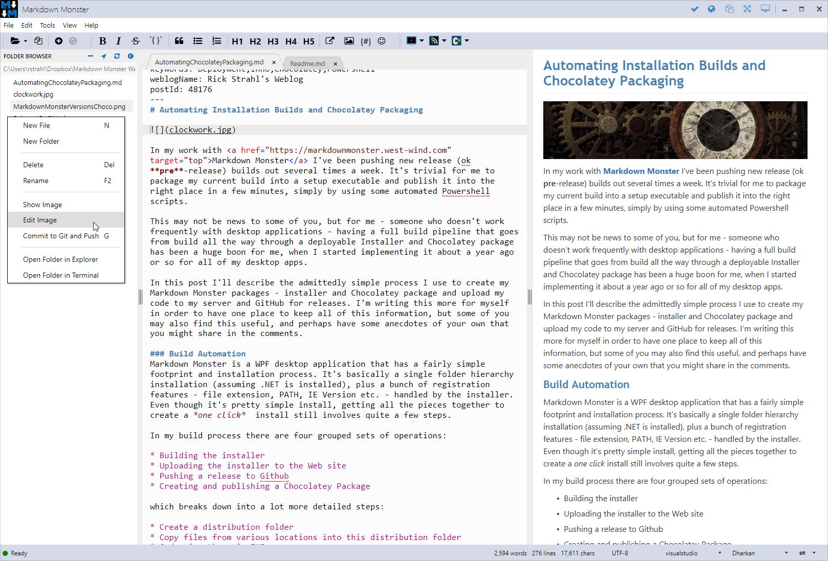 Markdown Monster Theme Support - Markdown Monster Documentation